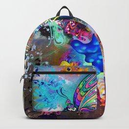 Flying Gummy Bear Backpack