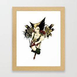 [Ame-Comi] Hawkgirl Framed Art Print