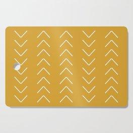 V / Yellow Cutting Board
