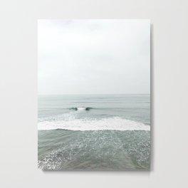 Calm Surf Metal Print