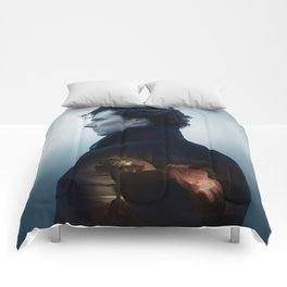 Snowcapped Mountain Comforters