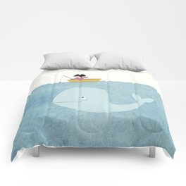 eskimo and wale Comforters