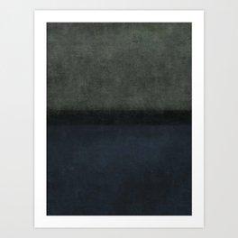 Imagining Rothko #18 Art Print