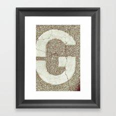 GGGG Framed Art Print
