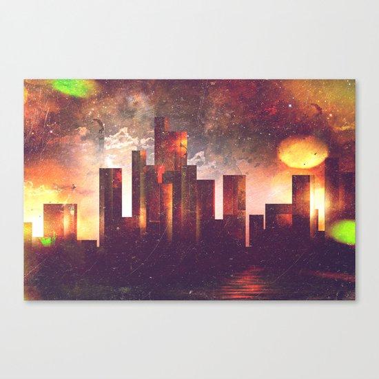 Good night Manhattan Canvas Print