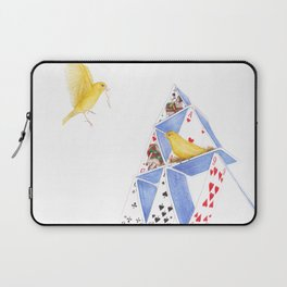 A House of Cards by Lars Furtwaengler   Colored Pencil   2014 Laptop Sleeve