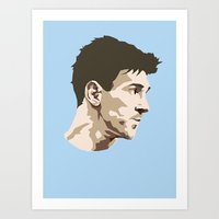 messi Art Prints featuring Messi by The World Cup Draw