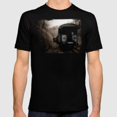 The Ghost Train II Mens Fitted Tee Black MEDIUM