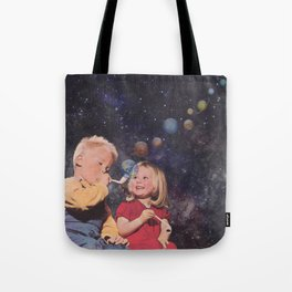 In the beginning ... Tote Bag