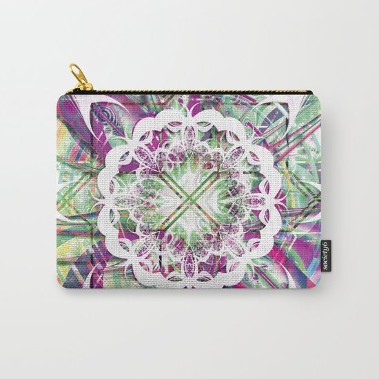 Introspective Reflection Carry-All Pouch