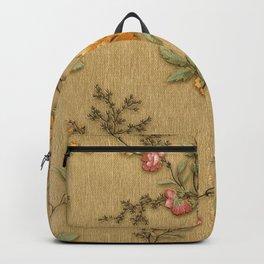 wintage flowers Backpack