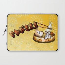 itadakimasu steamed buns  Laptop Sleeve