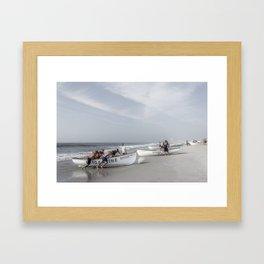 Beach Patrol, Jersey Shore Framed Art Print
