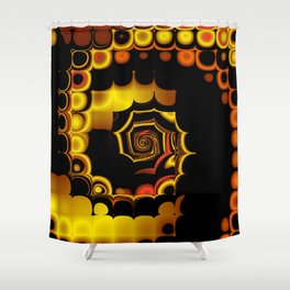 TGS Fractal Abstract 3 Shower Curtain