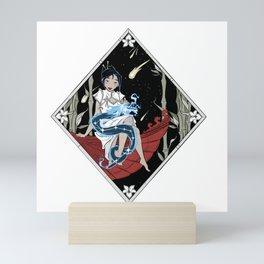 Mulan and Draco Mini Art Print