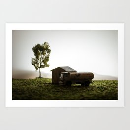 Inner scence diorama Art Print