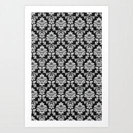 Wallpaper Black Art Print