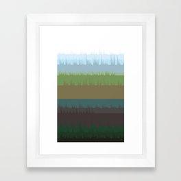 Vocalscape II Framed Art Print