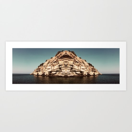 Ahh, Greece Art Print