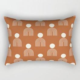 Full moon rainbow pattern collection SS02 Rectangular Pillow