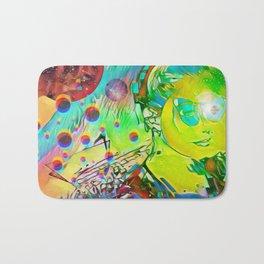Cosmic girl Bath Mat