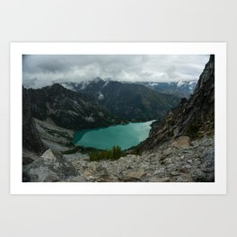 Colchuck Below Art Print