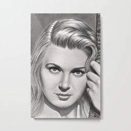 Play it like Bergman Metal Print