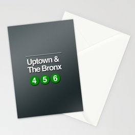 subway bronx sign Stationery Cards