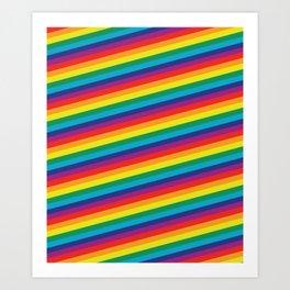 HD Rainbow Art Print