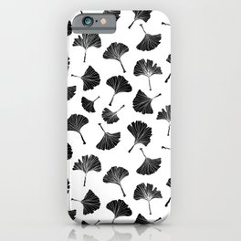 Ginko Leaves Pattern - Mix & Match iPhone Case