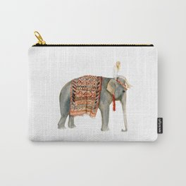 Riding Elephant Carry-All Pouch