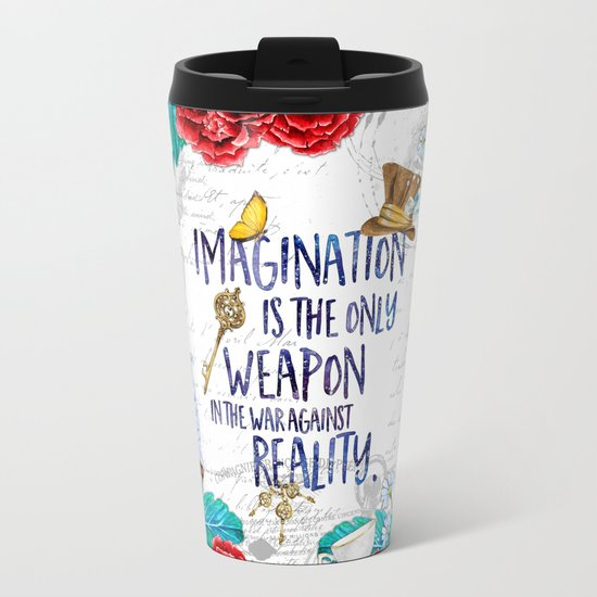 Alice in Wonderland - Imagination Metal Travel Mug