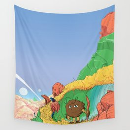 Alien Cover Wall Tapestry
