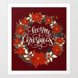 Christmas Greetings 5 Art Print