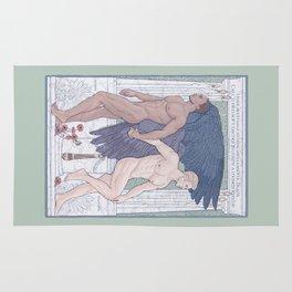 Hypnos and Thanatos (Sleep and Easeful Death) Rug