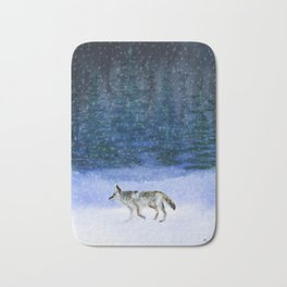 Peace on Earth Bath Mat