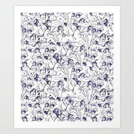 Hedonistic Astrophoria Art Print