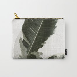 Variegated Rubber Plant 03 Carry-All Pouch
