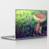 mushroom Laptop & iPad Skins featuring Mushroom by Ekaterina La