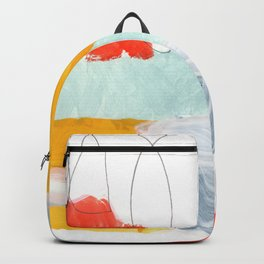 abstract painting XVI Backpack