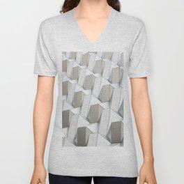 Pattern cubism Unisex V-Neck