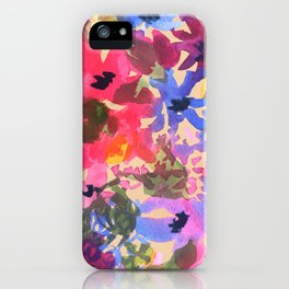 Wildflower Bunches iPhone Case
