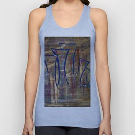 city lights laid out before us Unisex Tank Top