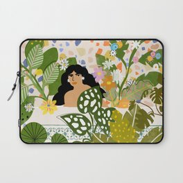Bathing with Plants Laptop Sleeve