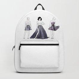 Three Fashion Girls Backpack