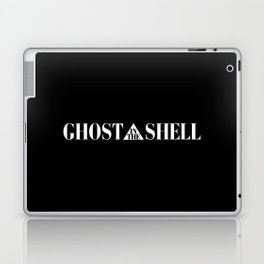 Ghost In The Shell Title (White) Laptop & iPad Skin