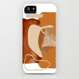 Abstract Merger iPhone Case