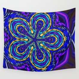 Azure Lavender Wall Tapestry