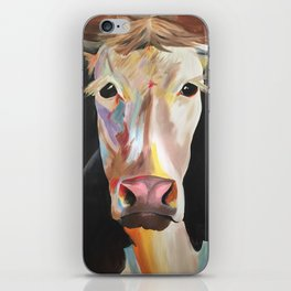 Colorful Bull iPhone Skin