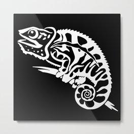 Chameleon Art Metal Print